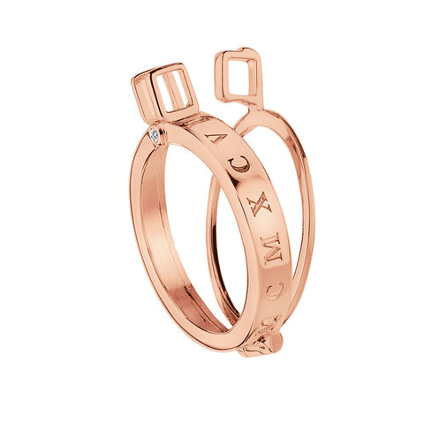 Emozioni Coin Keeper Rose Gold Plated