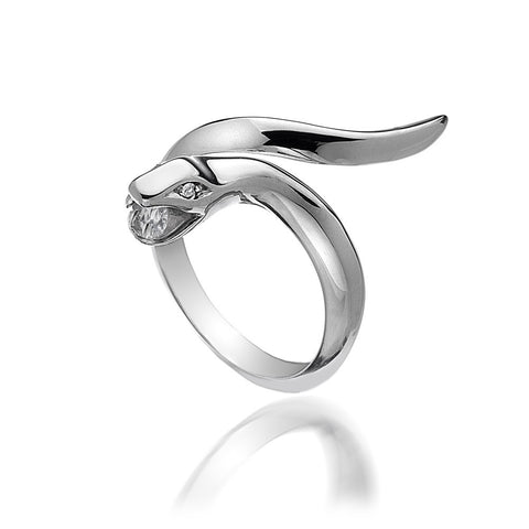 Hot Diamonds Ring Veleno Black D