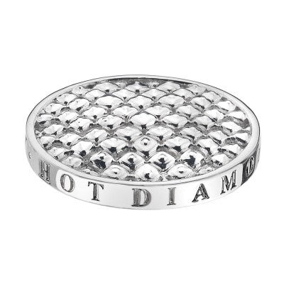 Emozioni Coin Sparkle Silver 33mm