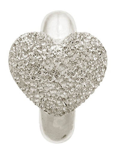 Endless Jewellery Charm Heart of Shine Silver