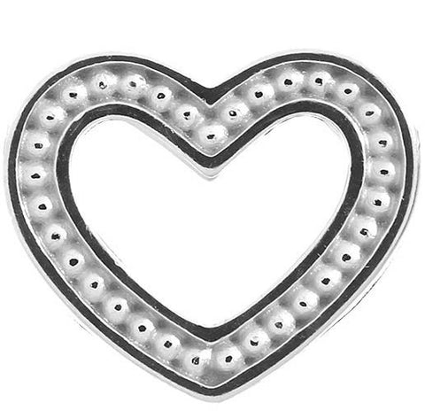 Endless Jewellery Charm Heart Dots Silver