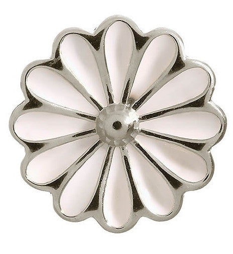 Endless Jewellery Charm Daisy White Silver