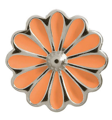 Endless Jewellery Charm Daisy Coral Silver