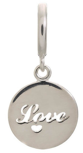 Endless Jewellery Charm Love Coin Silver