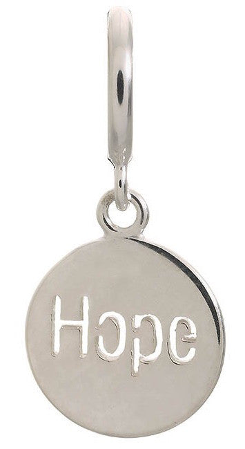 Endless Jewellery Charm Hope Coin Silver