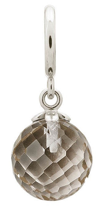 Endless Jewellery Charm Love Drop Smokey Silver