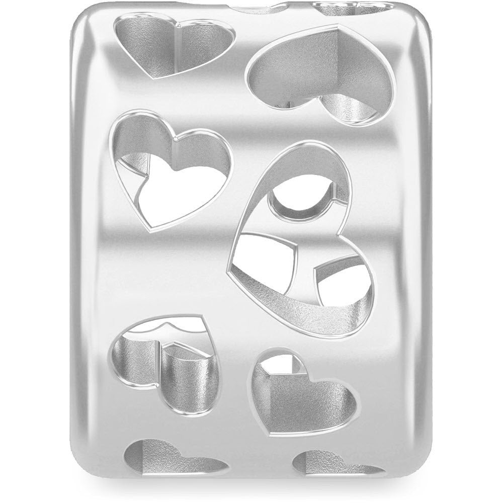 Endless Jewellery Charm Secret Heart Silver