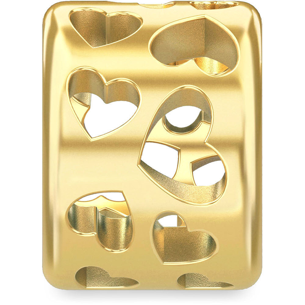 Endless Jewellery Charms Secret heart Yellow Gold