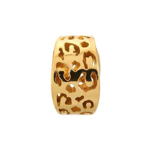 Endless Jewellery Charms Leopard Cut Yellow Gold