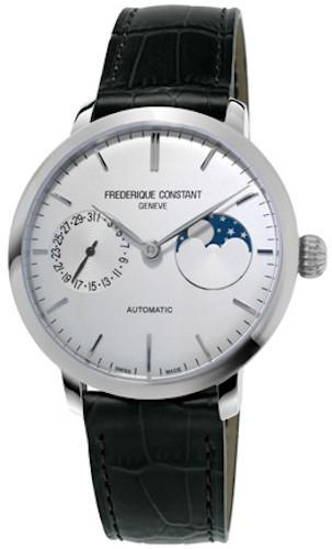 Frederique Constant Watch Slimline Moonphase Manufacture FC-702S3S6