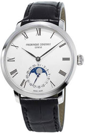 Frederique Constant Watch Slimline Moonphase Manufacture FC-705WR4S6