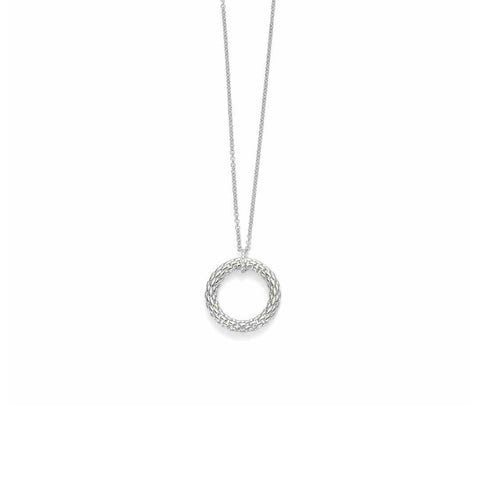 Fope 18ct White Gold Diamond Lovely Daisy Necklace with Pendant