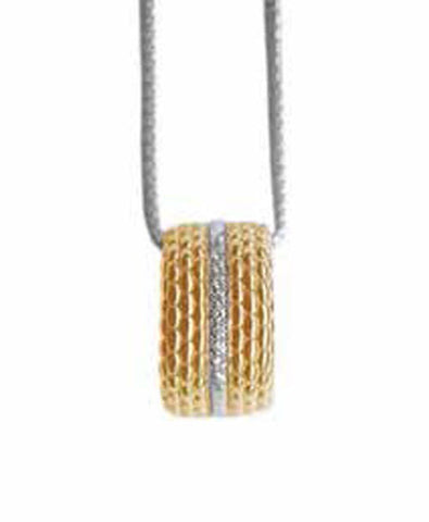 Fope Necklace Circe Diamond 18ct Yellow And White Gold