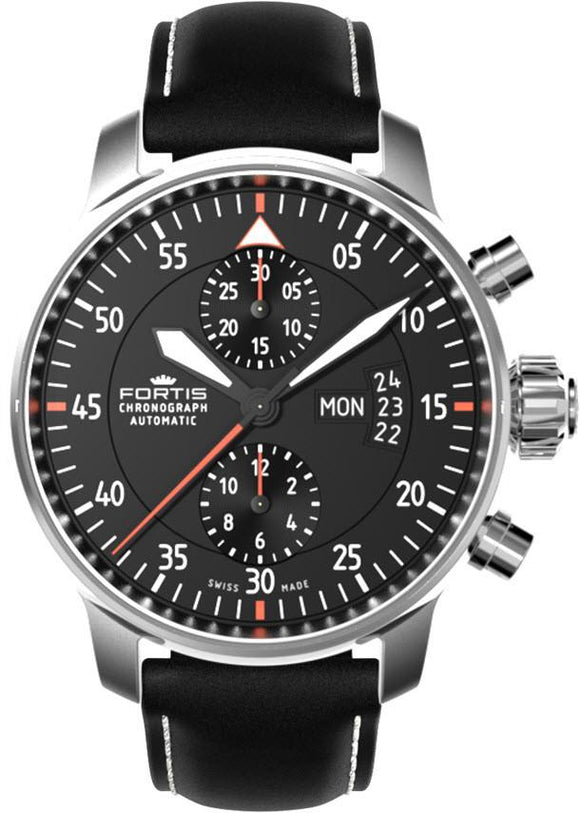 Fortis Watch Aviatis Cockpit Chrono Two 705.21.19 L01