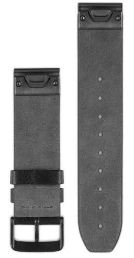 Garmin Watch Bands QuickFit 22 Black Perforated Leather