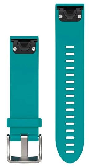 Garmin Watch Bands QuickFit 20 Turquoise Silicone