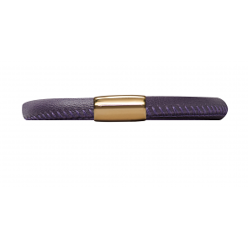 Endless Jewellery Bracelet Purple Leather 18 cm