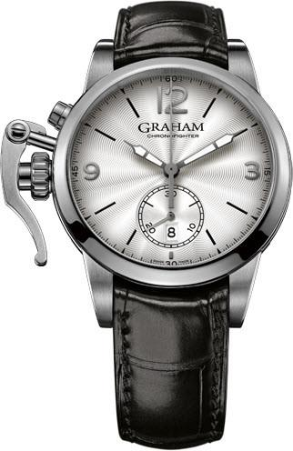 Graham Watch Chronofighter 1695 White 2CXAS.S07A.C137S