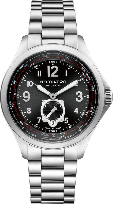 Hamilton Watch Khaki Aviation QNE H76655133