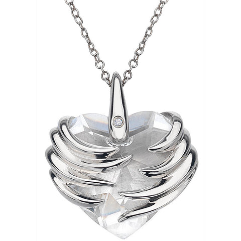 Hot Diamonds Necklaces Angel Heart Magma Maxi