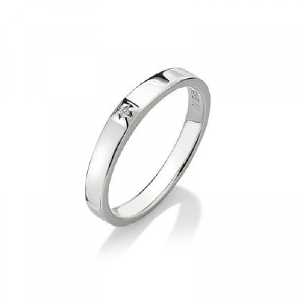 Hot Diamonds Ring Affine Solitaire D