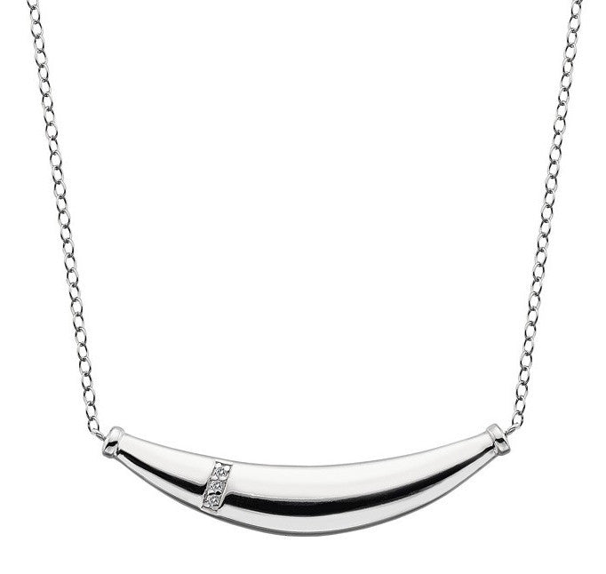 Hot Diamonds Necklace Belle Silver