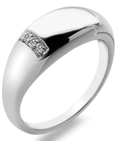 Hot Diamonds Ring Belle Silver