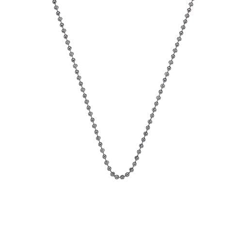 Hot Diamonds Chain 30in Silver Bead Chain D