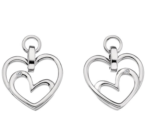 Hot Diamonds Earrings Forever Heart Drop