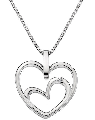 Hot Diamonds Necklaces Forever Heart