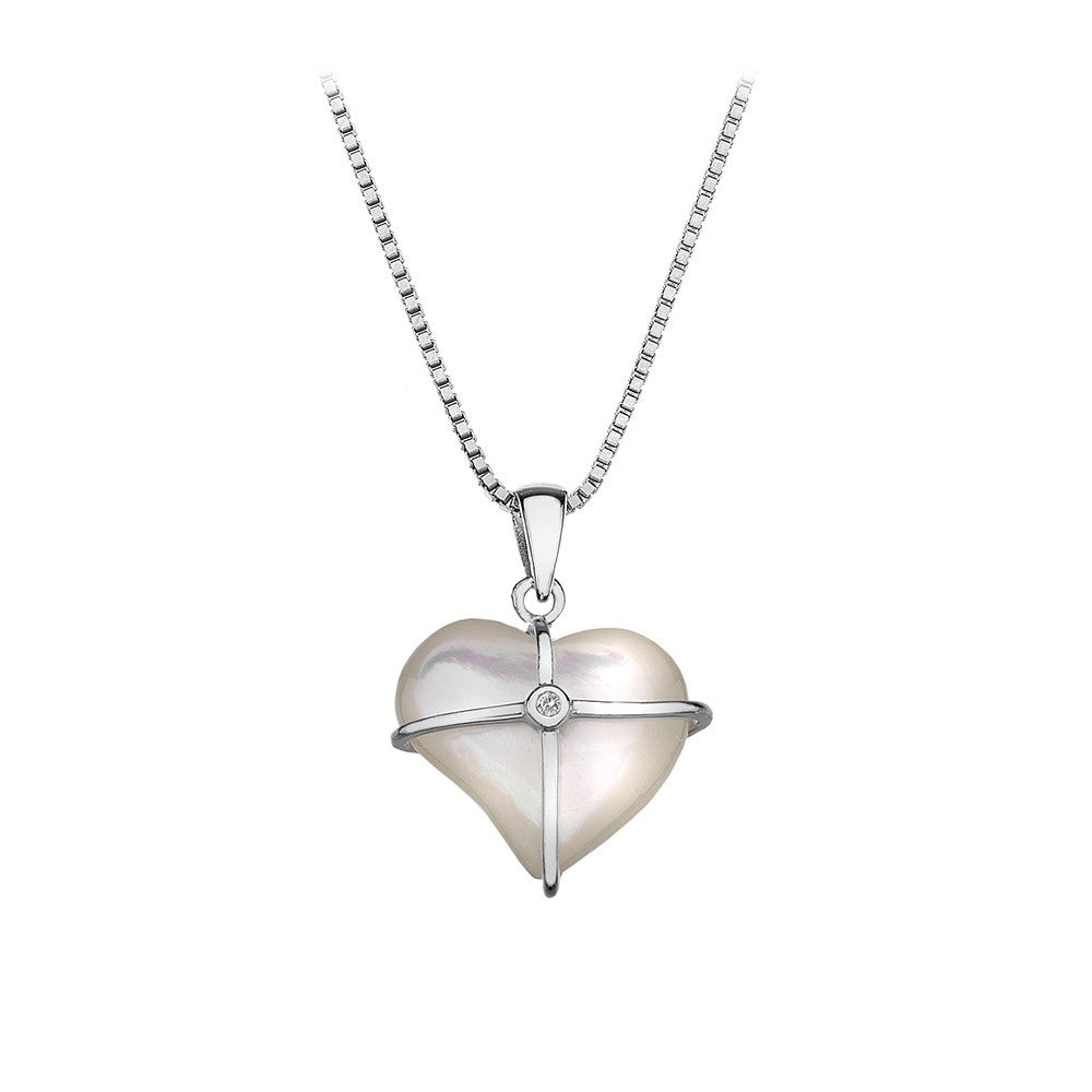 Hot Diamonds Necklace Heart D