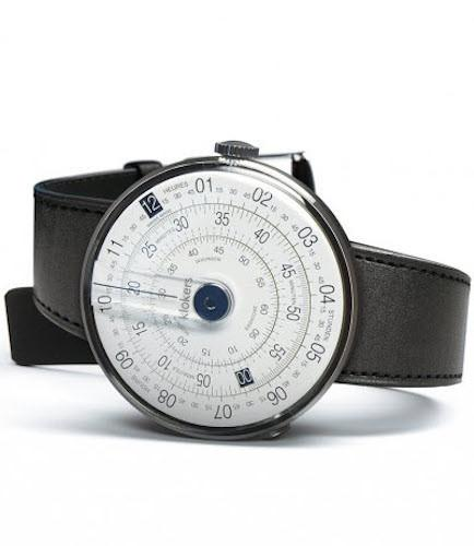 Klokers Watch KLOK-01-D4 Blue Simple