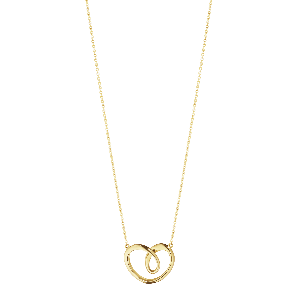 Georg Jensen 18ct Yellow Gold Heart Pendant