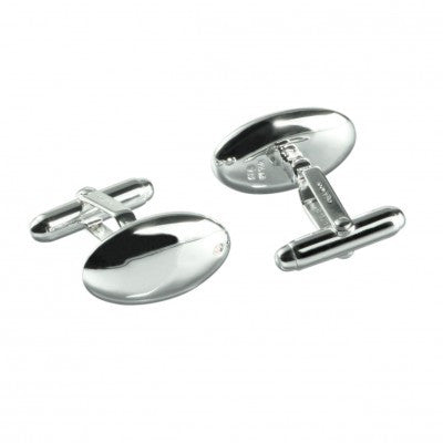 Hot Diamonds Cufflinks Odyssey Egg Silver