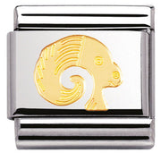 Nomination Charm Composable Classic Zodiac Aries Steel 030104 01