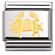 Nomination Charm Composable Classic Zodiac Cancer Steel 030104 04