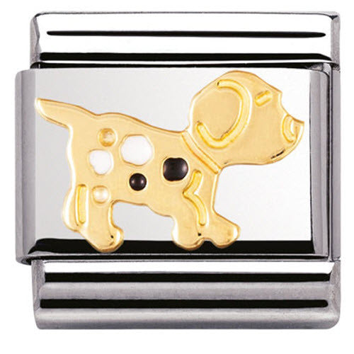 Nomination Charm Composable Classic Earth Animals Dog Steel