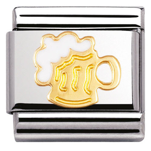 Nomination Charm Composable Classic Drinks Tankard Steel