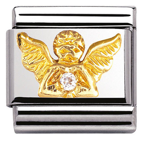 Nomination Charm Composable Classic Daily Life Angel Steel