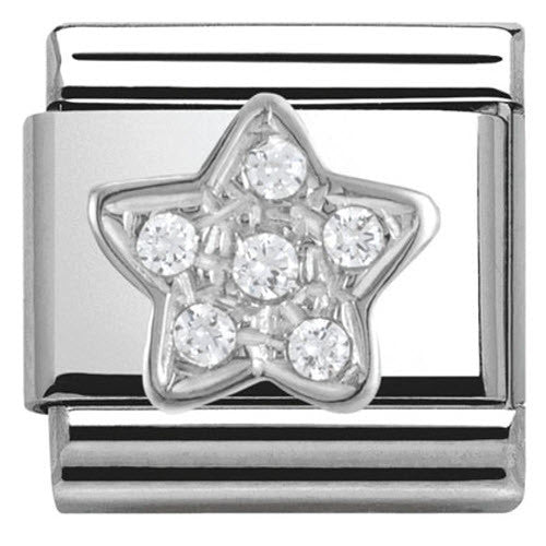 Nomination Charm Composable Classic Symbols Star Steel