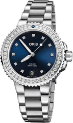 Oris Watch Aquis Date Diamond Ladies