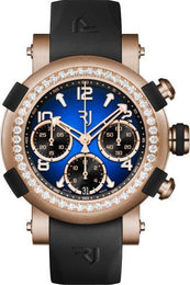 RJ Watches ARRAW Marine Chronograph 42mm Gold Blue 1M42C.OOOR.3518.RB.1101