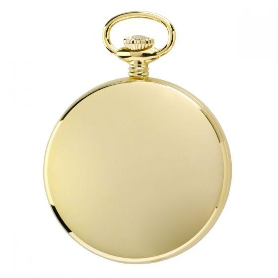 Rapport Pocket Watch Mechanical Open Face Gold Plated