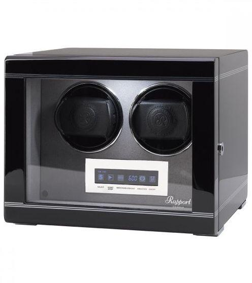 Rapport Watch Winder Formula Double Black W552