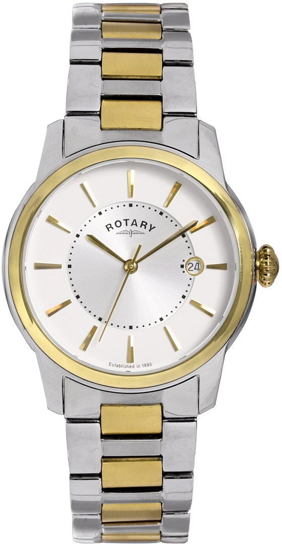 Rotary Watch Two Tone Gents GB02771/06