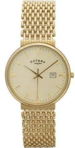 Rotary Watch Gents Precious Metal GB10900/03