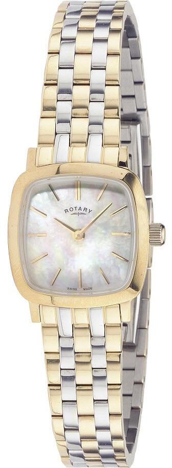 Rotary Watch Ladies Two Tone Bracelet LB02401/41