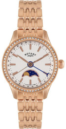 Rotary Watch Ladies Gold Plated Bracelet LB02854/01