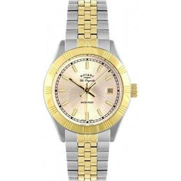Rotary Watch Ladies Bracelet Two Tone LB90101/03