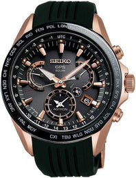 Seiko Astron Watch GPS Solar Dual Time SSE055